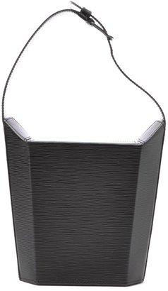Louis Vuitton Pre-Owned: black epi leather 'Sac Seau' bag