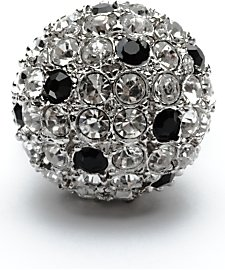 Kenneth Jay Lane Crystal Ball Ring