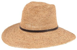 San Diego Hat Company Leather Buckle Hat