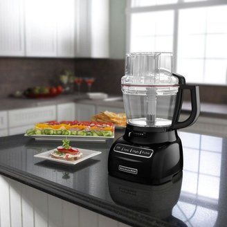 13-Cup Food Processor with Mini Bowl in Onyx Black