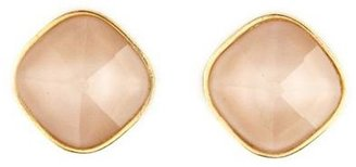 Charlotte Russe Frosted Pink Stud Earrings