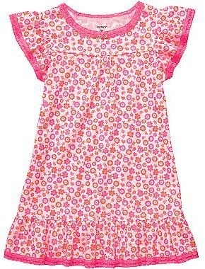 Carter's Floral Print Nightgown - Girls 2t-5t