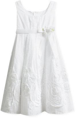 Bonnie Jean Kids Dress, Little Girls Soutache Dress