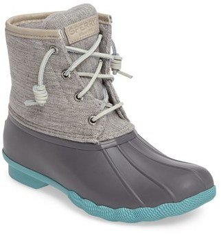 Women's Sperry 'Saltwater' Duck Boot $119.95 thestylecure.com