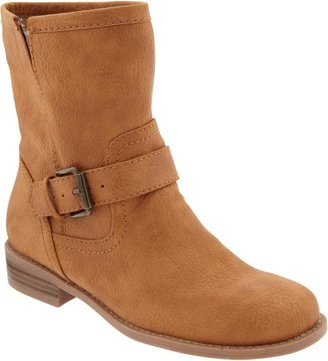 Old Navy Women's Faux-Leather Ankle Boots