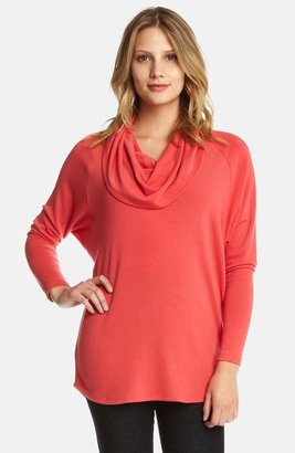 Karen Kane Dolman Sleeve Cowl Neck Sweater