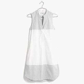 Madewell Sleeveless Shirtdress
