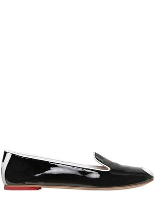 Hogan 10mm Patent Leather Loafers