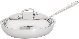 """All-Clad Stainless Steel 9"""" French Skillet With Domed Lid"""
