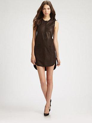 Rebecca Taylor Runway Leather Dress