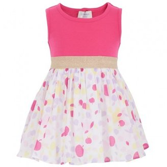 Bonnie Baby Apple Print Dress & Bloomers