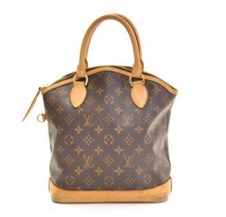 Louis Vuitton very good (VG Lockit Brown Monogram Canvas Handbag