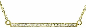 Jennifer Meyer Diamond Stick Necklace - Yellow Gold