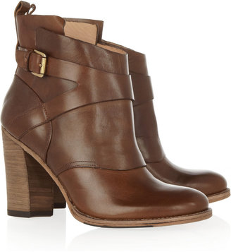 Sigerson Morrison Belle Leather ankle boots