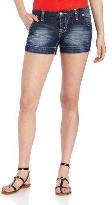 Miss Me Juniors Basic Denim Trouser Short
