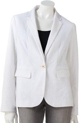 Apt. 9 paisley brocade blazer