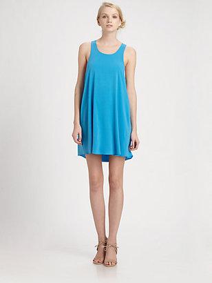 Alice + Olivia Haylen Silk Dress