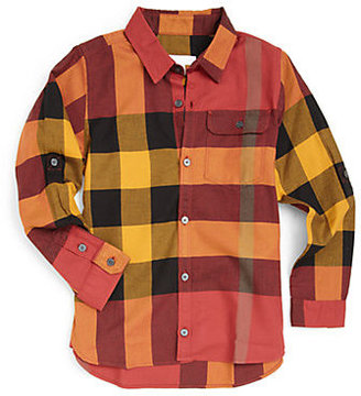 Burberry Boy's Woven Check Shirt