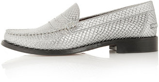 J.W.Anderson **Leather Loafers By for Topshop