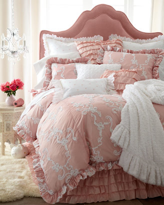 "Matouk Catherine"" Bed Linens"