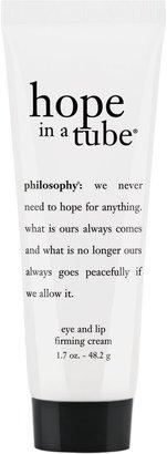 philosophy super-size hope in a tube high density eye & lip cream