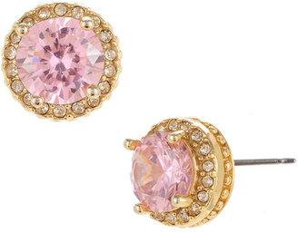 Betsey Johnson Pink Stud Earrings
