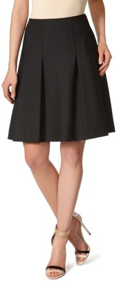 The Limited Black Collection Pleat-Front Skirt