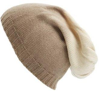 Leith Ombré Slouchy Knit Beanie