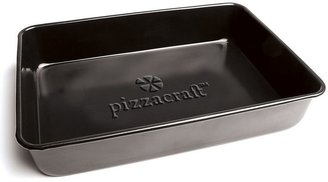 Pizzacraft porcelain 13.6-in. nonstick deep dish pan