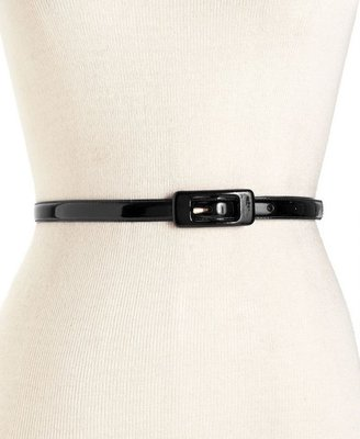 Lauren Ralph Lauren Lauren by Ralph Lauren Belt, Skinny Patent Leather