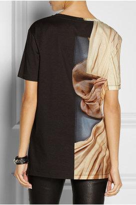 Acne Bijou Merci printed cotton T-shirt