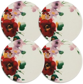 Mikasa Garden Palette Bouquet Set of 4 Coasters