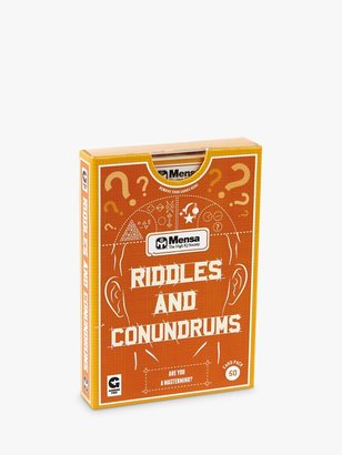 Ginger Fox, Mensa Riddles & Conundrums