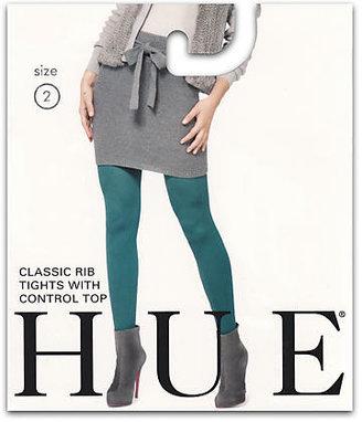 Hue Classic Rib Control Top Tights