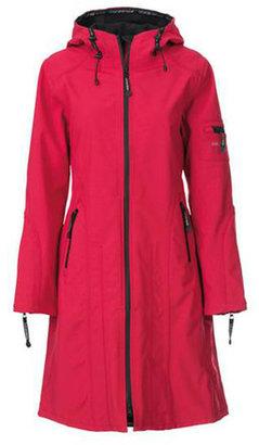 Ilse Jacobsen Hornbaek Raincoat Long Sweet Rose