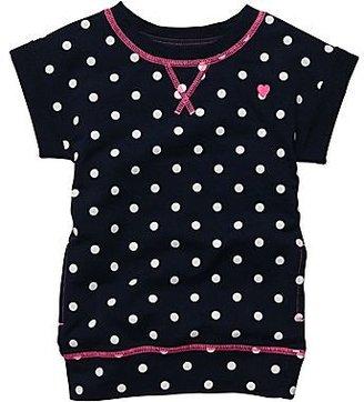 Carter's Navy Print Tunic - Girls 2t-4t