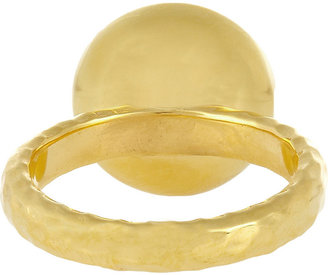 Monica Vinader Medina gold-plated carnelian ring