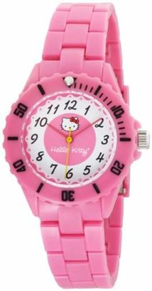 Hello Kitty Women's H3WL1004PK Pink Dial Watch $55 thestylecure.com