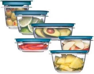 Rubbermaid Flex & SealTM Food StorageContainers with Easy Find Lids