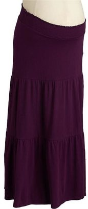 Old Navy Maternity Tiered Maxi Skirts