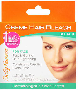 Sally Hansen Creme Hair Bleach Kit for Face $7.29 thestylecure.com