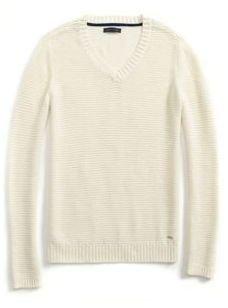 Tommy Hilfiger Women's Textured Horizontal Knit Sweater