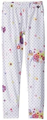 Hot Chillys Kids Midweight Print Bottom (Little Kids/Big Kids) (Flirty) Girl's Clothing