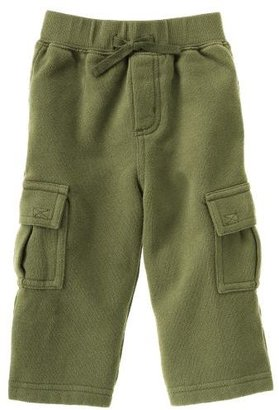 Gymboree Green Fleece Cargo Pant