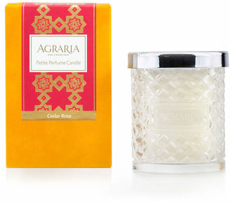 Agraria Cedar Rose Crystal Candle, 3.4 oz.