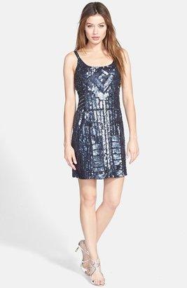 Adrianna Papell Beaded Tank Dress