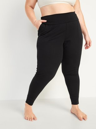 Old Navy Mid-Rise UltraLite French Terry Plus-Size Jogger Yoga Pants