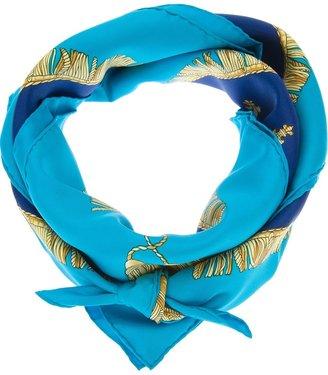 Hermes Vintage Vue du Carrosse Silk Scarf