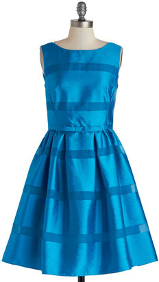 Dinner Party Darling Dress in Azure