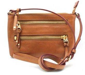 "M Z Wallace Lula"" Tan Leather Small Body Bag"